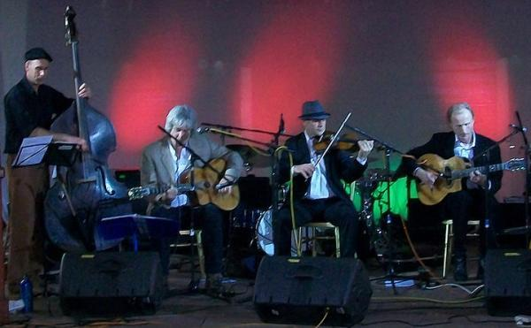 Quartet at Coleford Festival